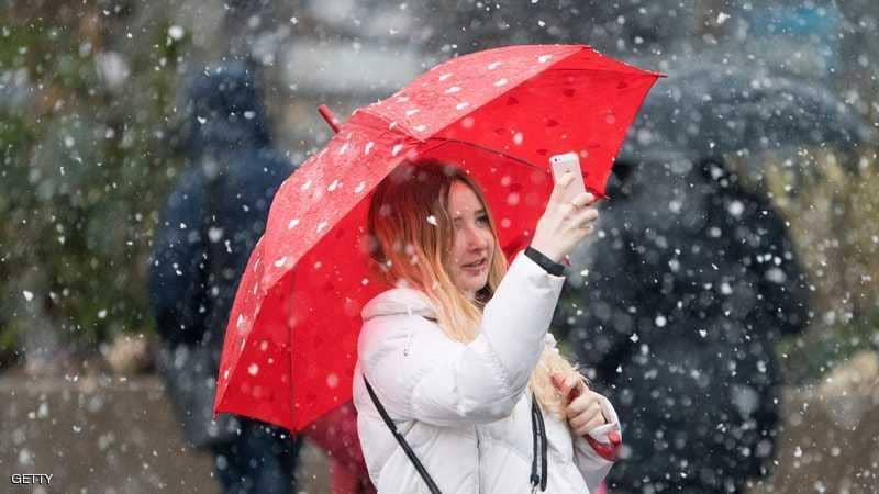 ينصح بعدم استخدام الهواتف المحمولة في الاماكن الباردة