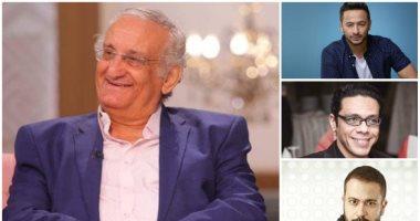 أحمد حلاوة وحمادة هلال وحمزة العيلى ومحمد نجاتى