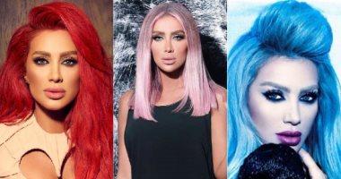 ألوان شعر جريئة