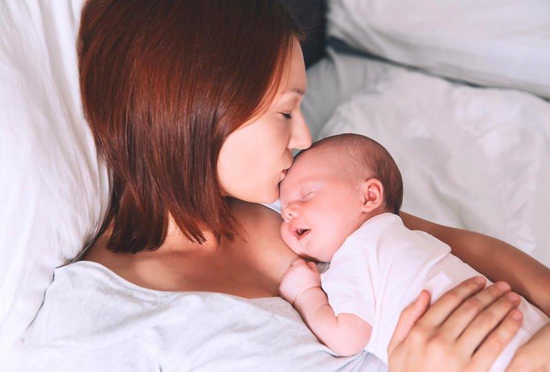 الطفل في الشهر الأول