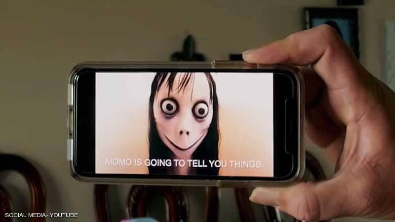 يوتيوب تواصل عرض فيديوهات خاصة بتحدي مومو