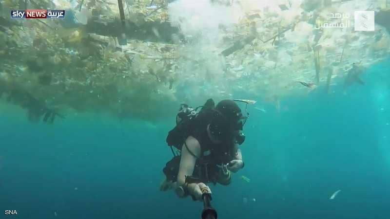 نفايات البلاستيك تهدد الحياة البيئية بإندونيسيا