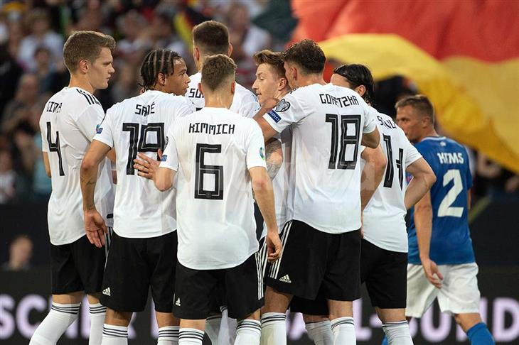 مباراة المانيا و إستونيا