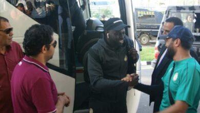 وصول منتخب السنغال إلى الإسماعيلية
