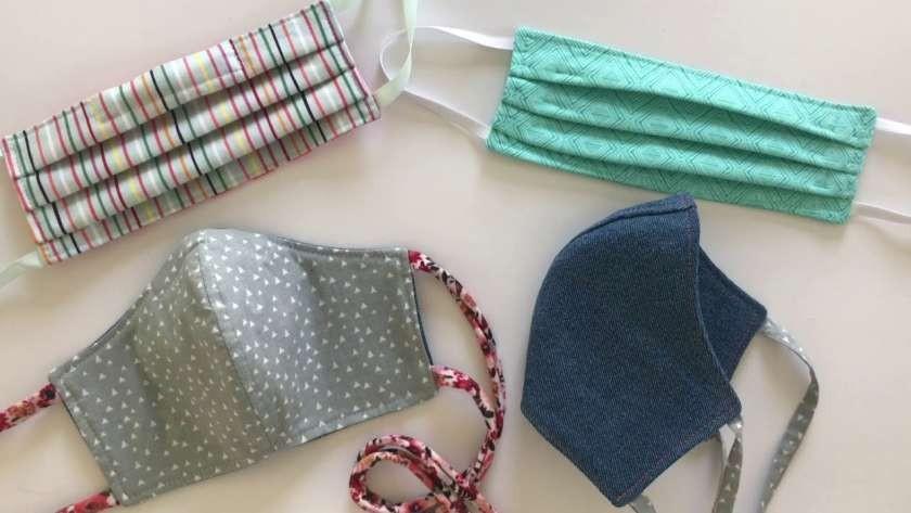 الكمامات القماش