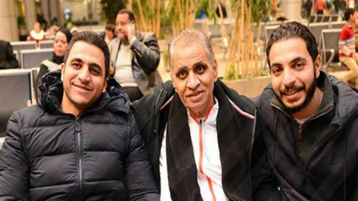 أحمد السبكي ونجليه