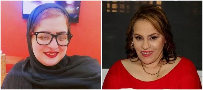 نادية العراقية وداليا إبراهيم