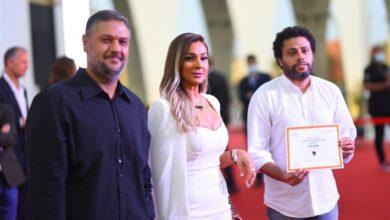أحمد فوزي صالح في التكريم