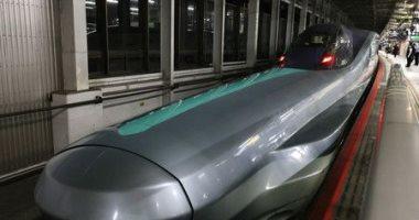 القطار الطلقة فى اليابان