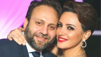 ريهام عبدالغفور و زوجها