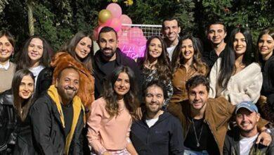 النجوم في عيد ميلاد ريهام أيمن