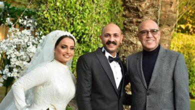 محمد توب وعروسه مع أشرف عبد الباقي