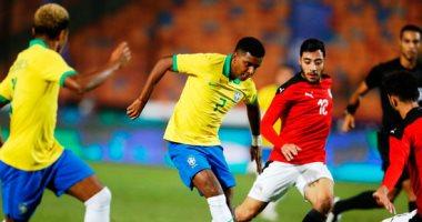 منتخب مصر الأوليمبي و منتخب البرازيل الأولمبي