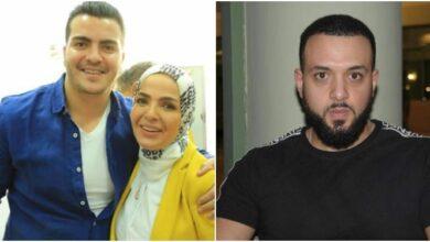 رامي بركات- منى عبد الغني ونجلها