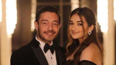 أحمد زاهر مع ابنته ملك
