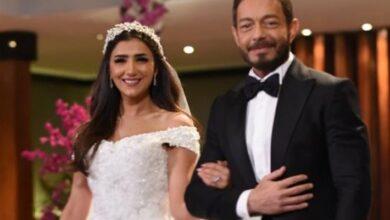 أحمد زاهر ومي عمر