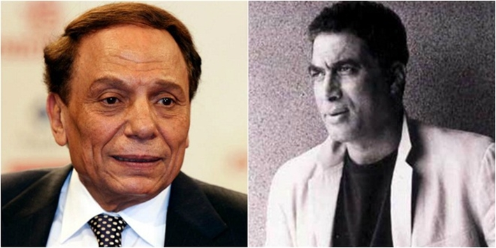 أحمد زكي وعادل إمام