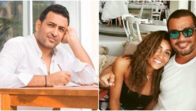 عمرو دياب ودينا الشربيني وتامر حسين