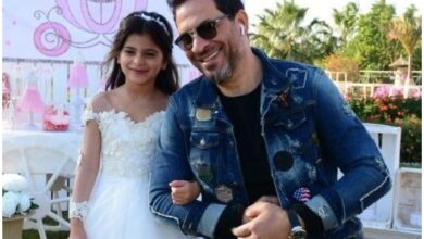 ماجد المصري وابنته داليدا
