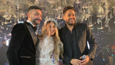 محمد حماقي ونادر حمدي والعروس