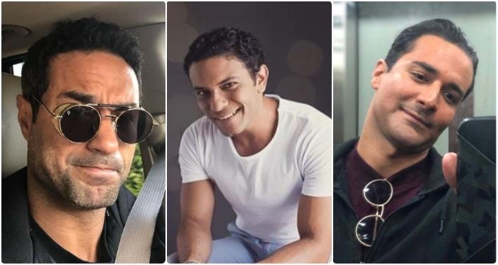 أحمد حاتم وآسر ياسين وكريم فهمي