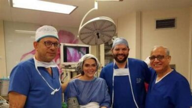 حورية فرغلي من داخل غرفة العمليات