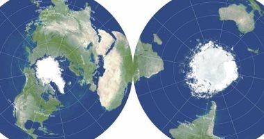خريطة الأرض الجديدة