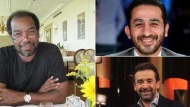 طارق الطيب وأحمد حلمي وكريم عبد العزيز