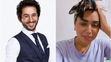 أحمد حلمي ومي إبراهيم