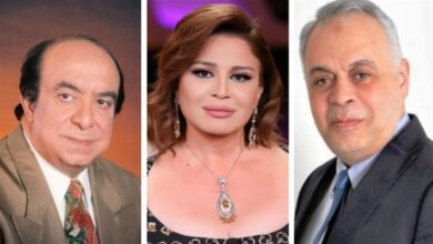 أشرف زكي وإلهام شاهين وجلال الشرقاوي