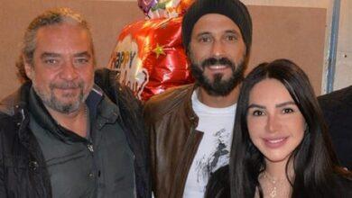 إنجي علاء ويوسف الشريف والمخرج أحمد نادر جلال