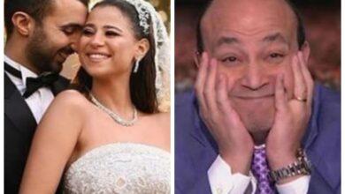عمرو أديب ودينا داش وزوجها محمود