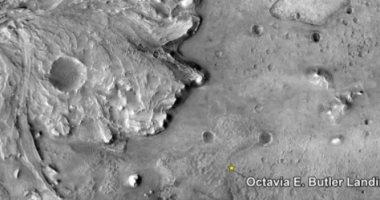 مكان الهبوط على المريخ