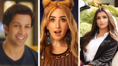 مي عمر وهنا الزاهد وهشام جمال
