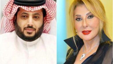 نادية الجندي وتركي آل الشيخ