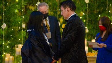 نيكولاس كيدج وعروسه ريكو شيباتا