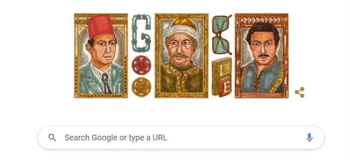 جوجل يحتفل بذكرى ميلاد نور الشريف