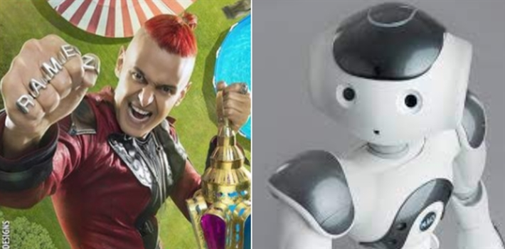 رامز جلال والروبوت