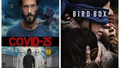 فيلم Bird Box ومسلسل كوفيد 25