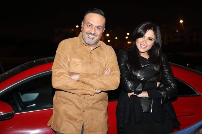 ياسمين عبد العزيز وخالد سرحان