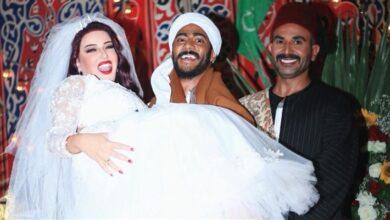 أحمد سعد وسمية الخشاب مع محمد رمضان في الصورة التي أثارت الجدل