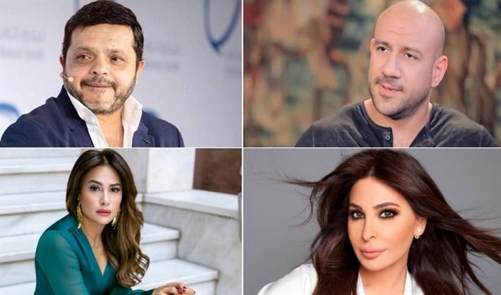 أحمد مكي ومحمد هنيدي وإليسا وهند صبري