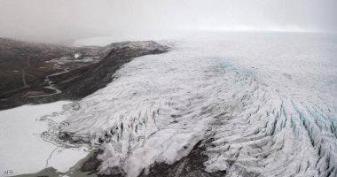 الجليد في جرين لاند