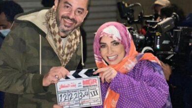 روجينا والمخرج أحمد شفيق