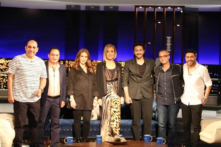 ريهام سعيد وصناع مسلسل المداح