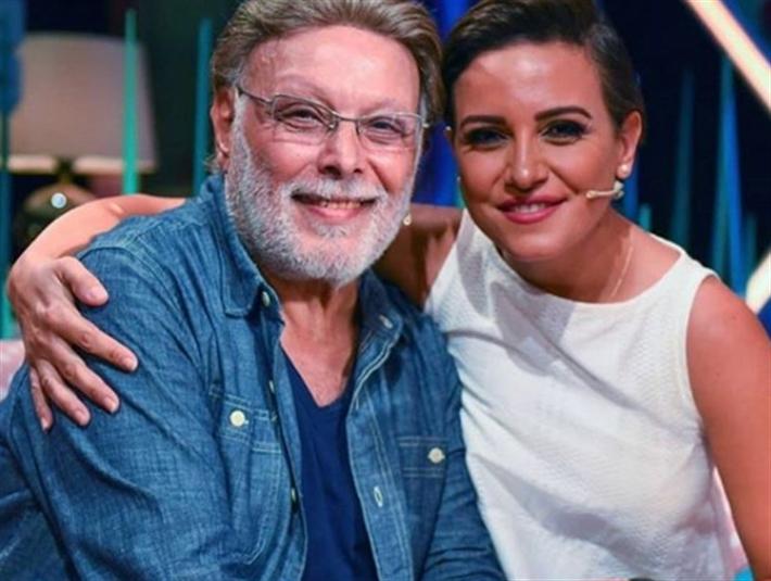 ريهام عبد الغفور مع والدها أشرف عبد الغفور