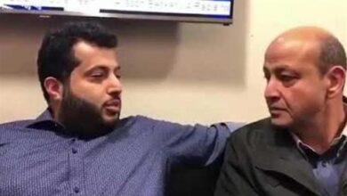 عمرو أديب وتركي آل شيخ