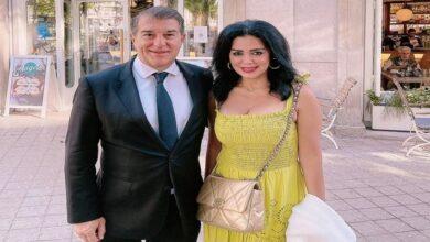 رانيا يوسف مع خوان لابورتا