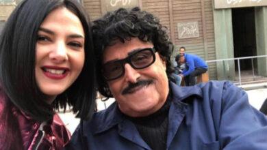 سمير غانم مع ابنته دنيا