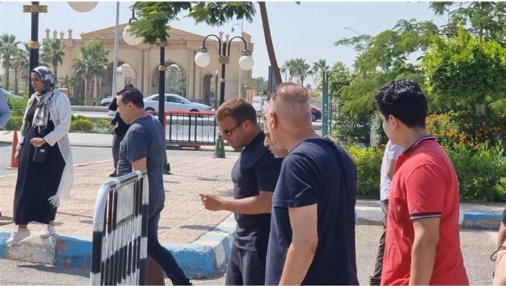 جنازة شقيق رامي صبري